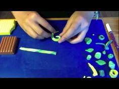 FIMO (Spirale und Perle) || diePumuckl - YouTube