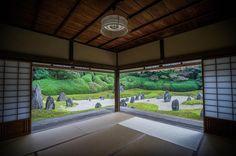 光明院 (Kyoto_Komyo-in_2016.11/14) _ 虹の苔寺こと光明院。 雨上がりの庭園を眺めていると、 _ Komyo-in temple after the rain _ _ #光明院 #京都 #枯山水 #庭園 #石 _ _ #wu_japan #phos_japan #photo_of_day #cools_japan #jp_gallery #japan_photo_now #special_spot_ #short_trip #japan_art_photography #igersjp #tokyocameraclub #ptk_japan #team_jp_