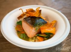 Salmon / fennel / orange at Tapage Restaurant in Warsaw