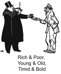 Rich & Poor, Young & Old, Timid & Bold @ Garvens Group of Churchill Mortgage Social Class, Social Status, Young Old, The Time Machine, Skinny Guys, Top Memes, Personal Finance, Thinking Of You, Things To Think About