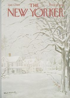 The New Yorker - January 4, 1969 - Cover by Albert Hubbell.