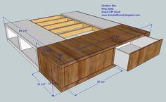 Best Storage Beds Bed Platform And King Size Beds On Pinterest 400 x 300