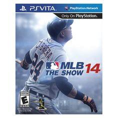 MLB 14: The Show for #PSVita