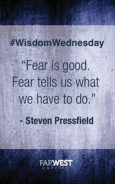 Love this quote. #wisdomwednesday #quotes #stevenpressfield