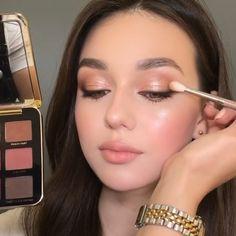 Neutral Makeup Look, Soft Makeup, Natural Eye Makeup, Glam Makeup, Eyeshadow Makeup, Summer Eye Makeup, Bridal Eye Makeup, Spring Makeup, Soft Autumn Makeup