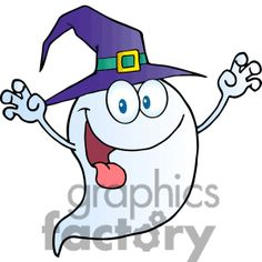 cute cartoon ghost 383535 vector clip art image illustrations by ...