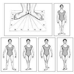Resultado de imagem para posicoes de ballet