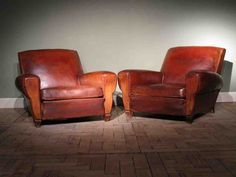Antique Club Chairs