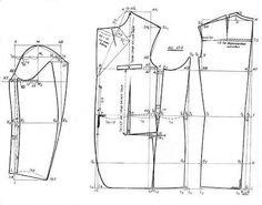 Resultado de imagen para tailleur patterns