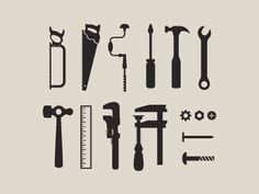 set of tool icons by matt yow