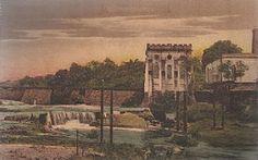 Represa da Cachoeira Grande, no bairro de São Jorge, obra inaugurada em 1888. Fonte: Manaus Sorriso.