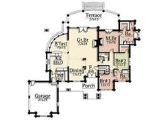 Grizzly   Ranch Style Log Home   Log Home Designs