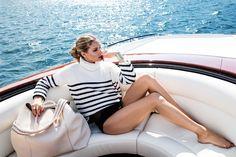 Olivia Palermo in the Aerin Lauder resort 2017 campaign.