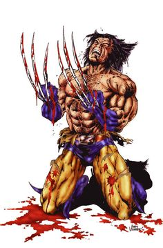 Wolverine, born James Howlett and often simply called Logan, is a Marvel Comics Anti-hero and a member of the X-Men as well as the New Avengers. Pencils by: Joe Quesada Inks by: Danny Miki Colors b...