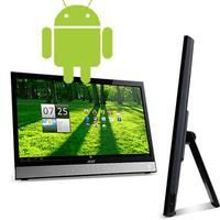 "21.5"" Android Desktop PC by Acer America Corp.  TOUCHSCREEN Acer DA220HQL All In One Android Desktop. Dual Core ARM Cortex-A9 1Ghz, 1GB RAM, 8GB Flash Storage, expandable to 40GB via MicroSD The Acer DA220HQL is a truly versatile .   http://wblack.zhuncity.com/store/product/215-android-desktop-pc  Price: $289.75 List Price: $349.99 Savings: 17.2% 32 in stock SKU: DA220HQL Drop Ship Fee: 0 Condition: new"
