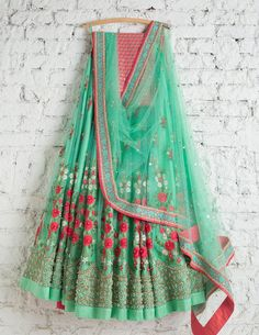 Excited to share this item from my shop: Indian designer Banglory silk lehenga choli with duppta and blouse salwar suit kameez ethnic wedding wear LEHENGHA Indian Lehenga, Silk Lehenga, Green Lehenga, Anarkali, Bridal Lehenga, Floral Lehenga, Pakistani Dresses, Indian Dresses, Indian Outfits