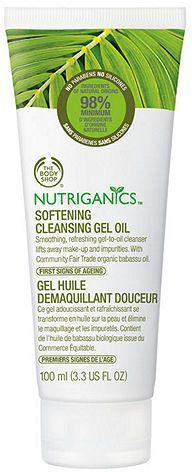 The Body Shop Nutriganics Softening Cleansing Gel 3.38 fl oz (100 ml)