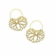Gold Earings, Arabian Indian