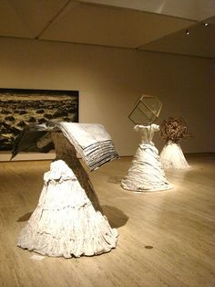 """Anselm Kiefer - """"Women of Antiquity"""" Myrtis, Hypatia  Candidia - His  recurring interests include the unfair treatment mythologies hand out to women, particularly strong women whose intellectual questioning is seen as unruly and cause for demonisation: For example, Pandora and Lilith."""
