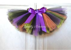 A personal favorite from my Etsy shop https://www.etsy.com/listing/536611360/halloween-tutu-witches-tutu-birthday