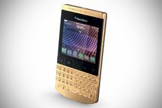 Porsche Design P9981 BlackBerry Gold