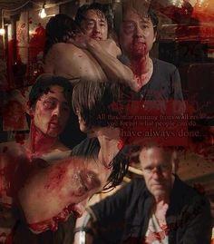 Glenn and Maggie <3 The Walking Dead