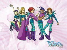 W.I.T.C.H. Una de mis series animadas  favoritas <3 ah! también es un comic, con una onda Sailor Moon, pero mucho más cómico, 5 chicas, Will, Irma, Taranee, Cornelia y Hay Lin (Por eso son W.I.T.C.H.) son las encargadas de cuidar Kandrakar, una tierra lejana, en otra realidad.