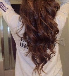 V-cut Hairstyle for Long Straight Brown   Ombre Hair