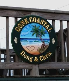 """'We love our sign.it looks perfect at our beach house! Beach House Signs, Us Beaches, Myrtle, Virginia, Coastal, Decorative Plates, Ocean, Usa, Twitter"