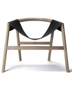 Oak armchair DARTAGNAN by Haymann | #design Toni Grilo #chair #wood