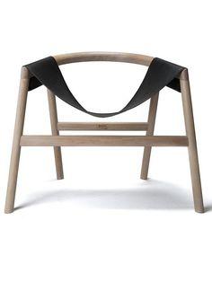 Oak armchair DARTAGNAN by Haymann | #design Toni Grilo #chair #wood