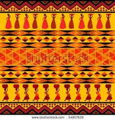 African pattern