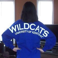 University of Kentucky spirit jersey http://www.facebook.com/spiritfootballjersey