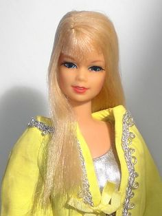 Stacey TNT Mod Barbie Friend Long Hair Bangs Platinum | eBay. This was my favorite! I still have all my BARbiES, Stacey, Casey, Tressy Tutti.....on & On...