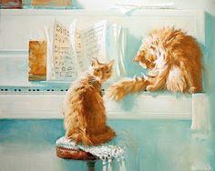 Au Fil Des Pages ...: Les chats de Maria Pavlova - 1