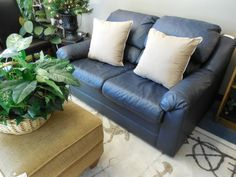 Leather Love Seat $169.00. - Consign It! Consignment Furniture
