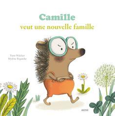 Le loup qui voulait être un artiste + Camille veut une nouvelle famille - Orianne Lallemand & Yann Walcker - 2 livres de 32 pages chacun - Collection Mes p'tits albums - Couvertures souples. 21,5 x 21,5 cm - Inclus : des fiches pédagogiques - 5 ans et plus - #Livre #Enfants #Jeunesse