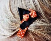 Cute Halloween Witch Hat Hair Clip