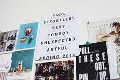 emmadime | inspiration wall.