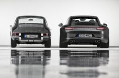 From beetle to beast - 1964 Porsche 911 Coupé & 2013 Porsche 911 Carrera 4S Coupé