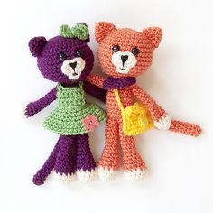 Ravelry: Amigurumi Pals: Kitty pattern by Karla Fitch