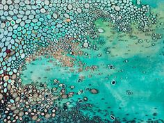 Oceanic Lullaby - Amy Genser - acrylic and rolled paper