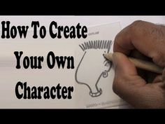 ▶ How To Create A Cartoon Character - YouTube