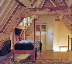 Attic room, Kelmscott Manor