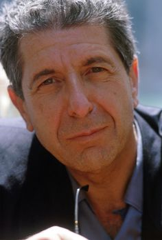 A Gorgeous Photo Of Leonard Cohen In Venice - 1988