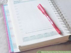 How to Organize Your Day Planner for School