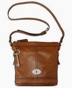 Brown Lether Bag With A Key