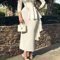 Modest Dresses, Modest Outfits, Elegant Dresses, Dress Outfits, Casual Dresses, Dresses With Sleeves, Arab Fashion, Muslim Fashion, Modest Fashion