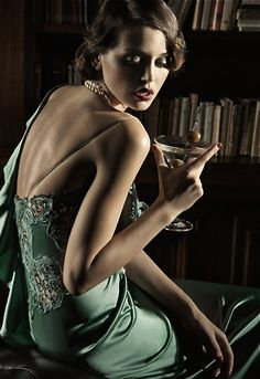 The Look: Gatsby Girl, photo by Daniela Rettore – girl photoshoot Gatsby Girl, Gatsby Style, 1920s Style, The Great Gatsby, Glamour, Party Kleidung, Art Deco Stil, Gatsby Party, Gatsby Wedding