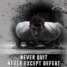 You must always push yourself! www.gruntstyle.com